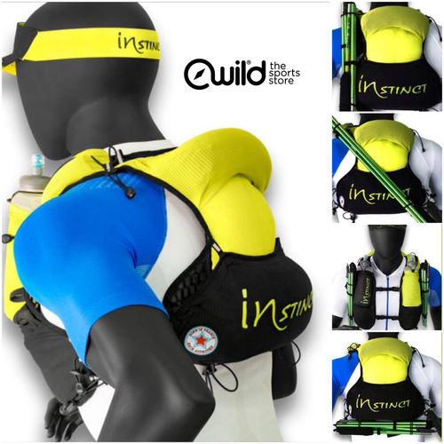 Instinct Evolution Trail Vest + 2 Flasks 600ml