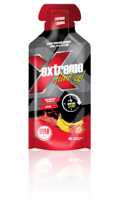 Gold Nutrition Extreme Fluid Gel  Banana Morango
