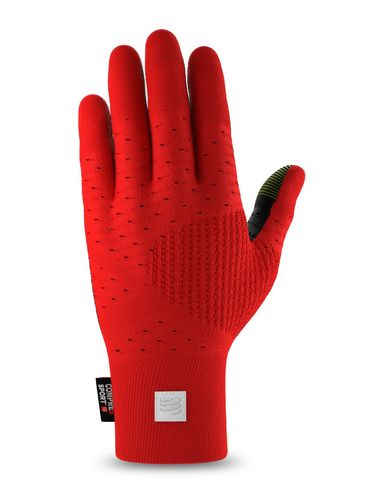 Compressport 3D Thermo Gloves Red/Black