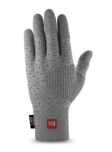 Compressport 3D Thermo Gloves Grey