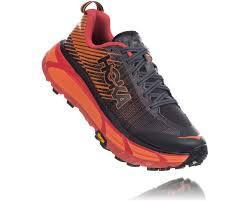 Hoka One One Evo Mafate 2  Black Red