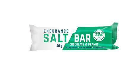 Gold Nutrition Endurance Salt Bar Chocolate Amendoim