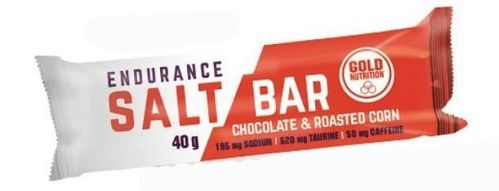 Gold Nutrition Endurance Salt Bar Chocolate Milho Torrado