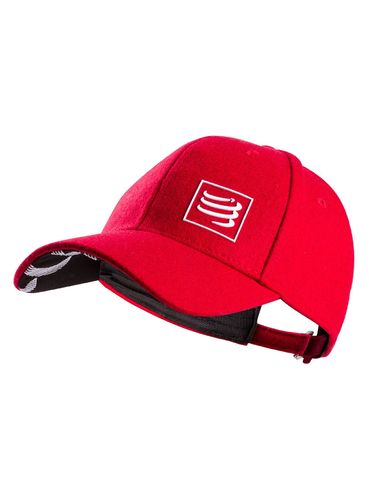Wool Cap Red Compressport