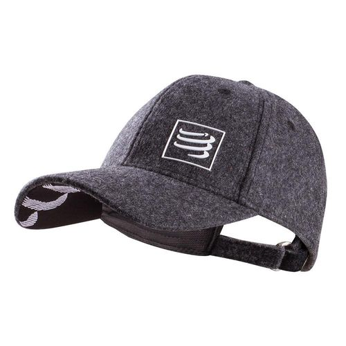 Wool Cap Grey Compressport