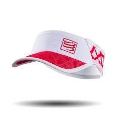 Compressport Visor Ultra Light  Spider White Red