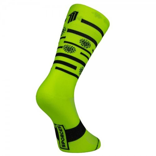Meias Sporcks Splinders Hut Yellow
