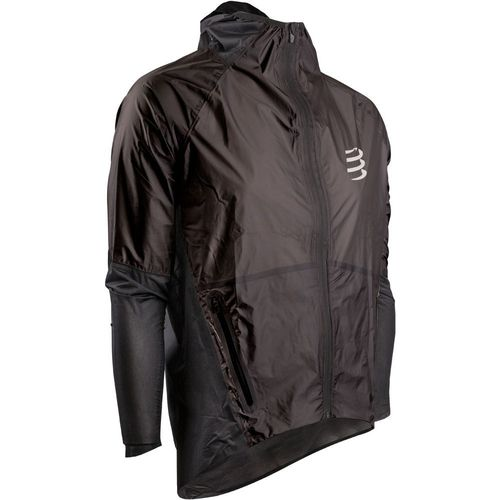 Hurricane Waterproof 25/75 Jacket Preto Compressport