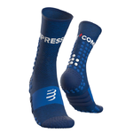 Compressport Ultra Trail Socks Blue Melange
