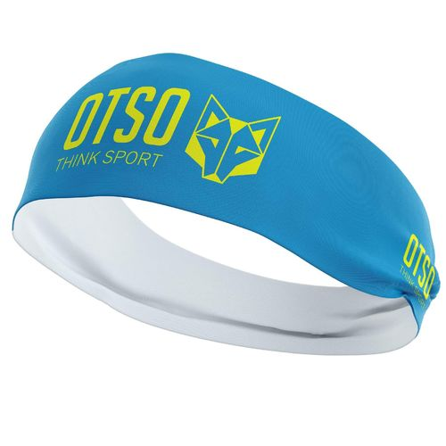 Otso Headband Light Blue Fluo Yellow 12''