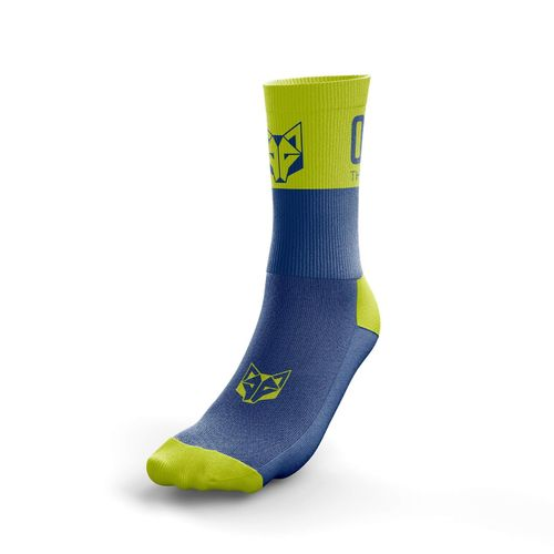 Otso Multisport Socks Medium Cut Blue / Yellow