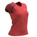 Compressport Performance SS Tshirt Woman Coral