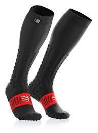 Compressport Full Socks Race and Recovery Black