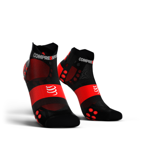 Compressport Pro Racing Socks V3.0 Run Ultralight Low Black