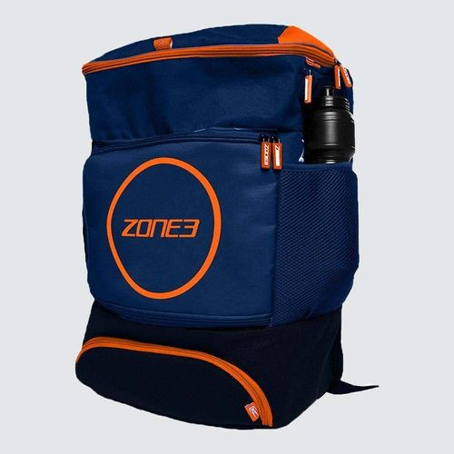 Transition Backpack Navy Blue Orange Zone3