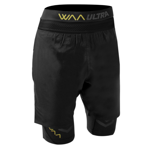 WAA 3-in-1 Shorts Black