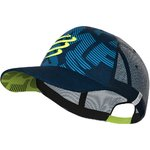 Trucker Cap Blue Lime Compressport