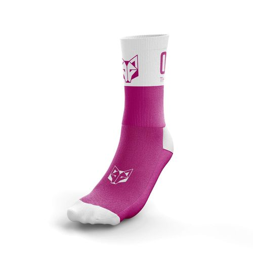 Otso Multisport Socks Medium Cut Pink White